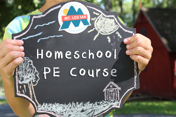 Fall 2017 homeschool PE Course Coming Soon!