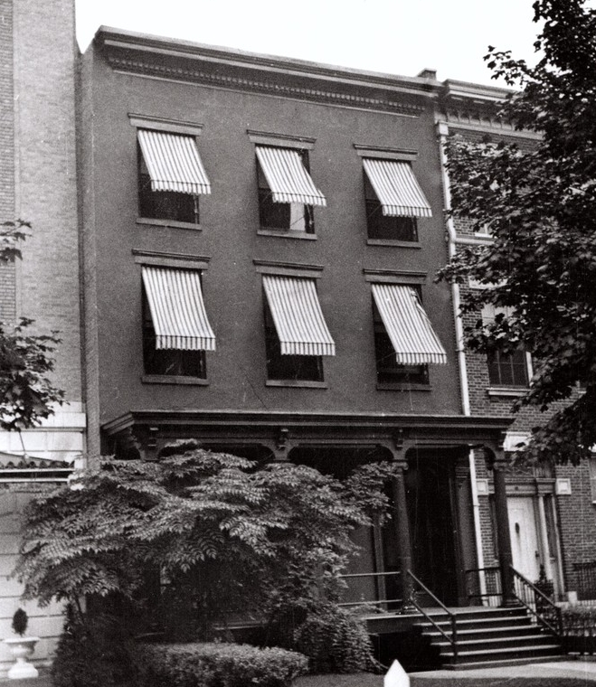 Our townhouse in 1940