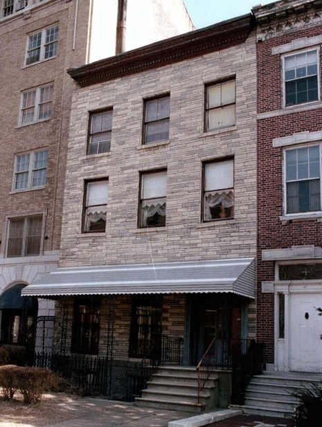 Our townhouse in 1980