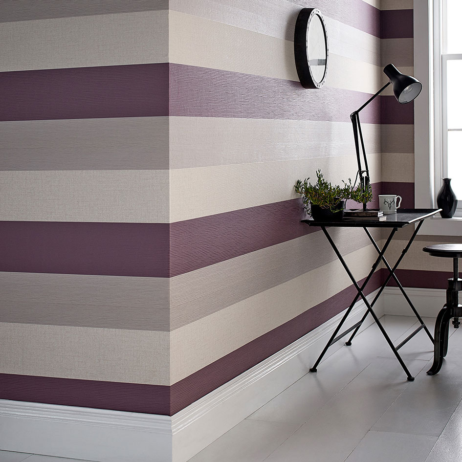 Graham-and-Brown-plum-striped-wallpaper