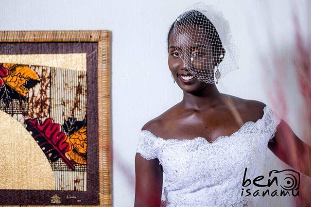 Really cannot get over how gorgeous she is! 😍  #BridalMakeup #AbarundikaziNiBeza #BurundianBrides