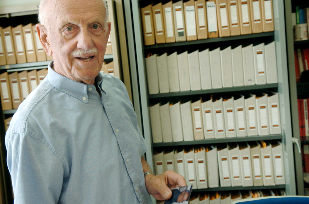 Hans Landauer, Vienna, 2006  ©Heribert Corn
