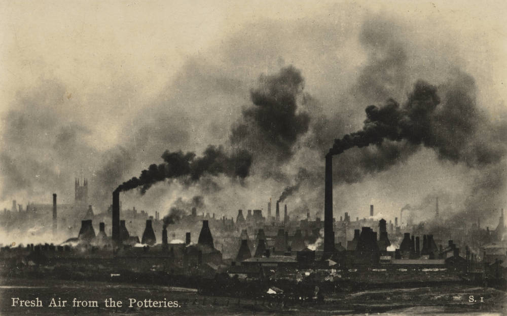 Postcard of Stoke-on-Trent, c.1903 © Staffordshire Archives and Heritage