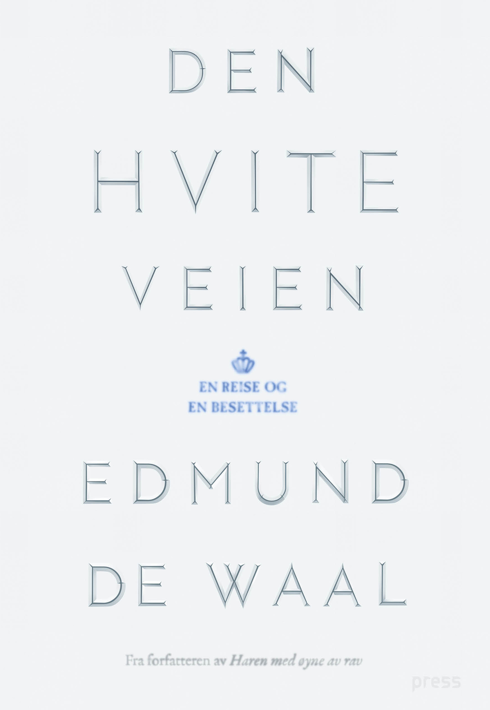 The White Road by Edmund de Waal, Norwegian Edition