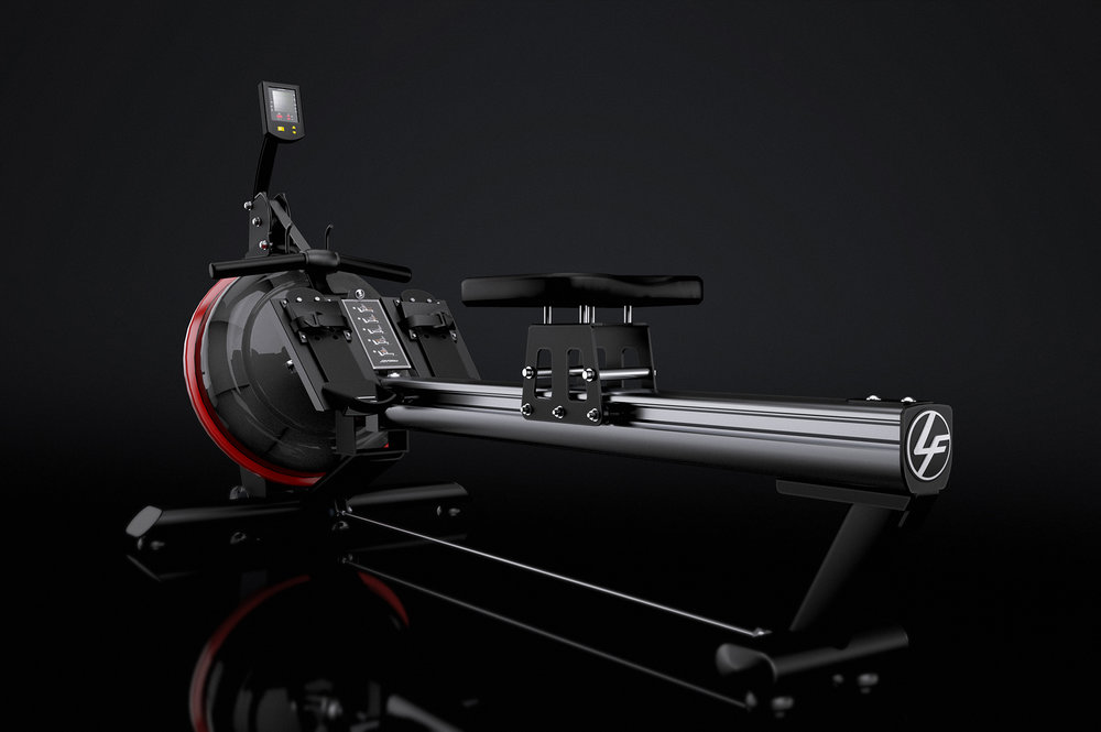 CG Render from CAD for Life Fitness.