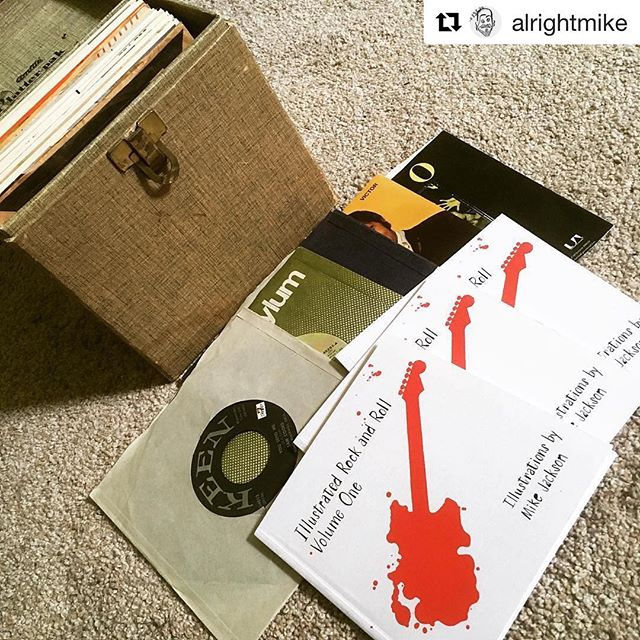 Today only!! #Repost @alrightmike ・・・ **How you can get a free copy of my book AND help the best radio station around** Today is the last day of the @wxpnfm spring member drive. Because they've been a monumental influence on me, and especially my work this past year, I'm going to give a book away to a donor. First, become a member or re-up your membership at XPN.org. Next, send me a screenshot of your new or re-upped membership dated any day this week. That's it. You'll be in the running for a free copy of my first book, pictured above. Send screenshots to mike(at)alrightmike.com. I'll pull a name tonight and notify the winner by email. XPN is without a doubt one of the main reasons #whyilovephilly. (This isn't an official XPN contest.) #publicradio #radio #worldcafe #philly #philadelphia #music #illustration #illustrationart #drawing #art #indyhall_arts
