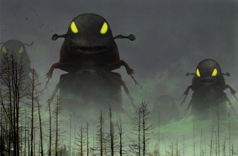 Attack of the Killer Beetles