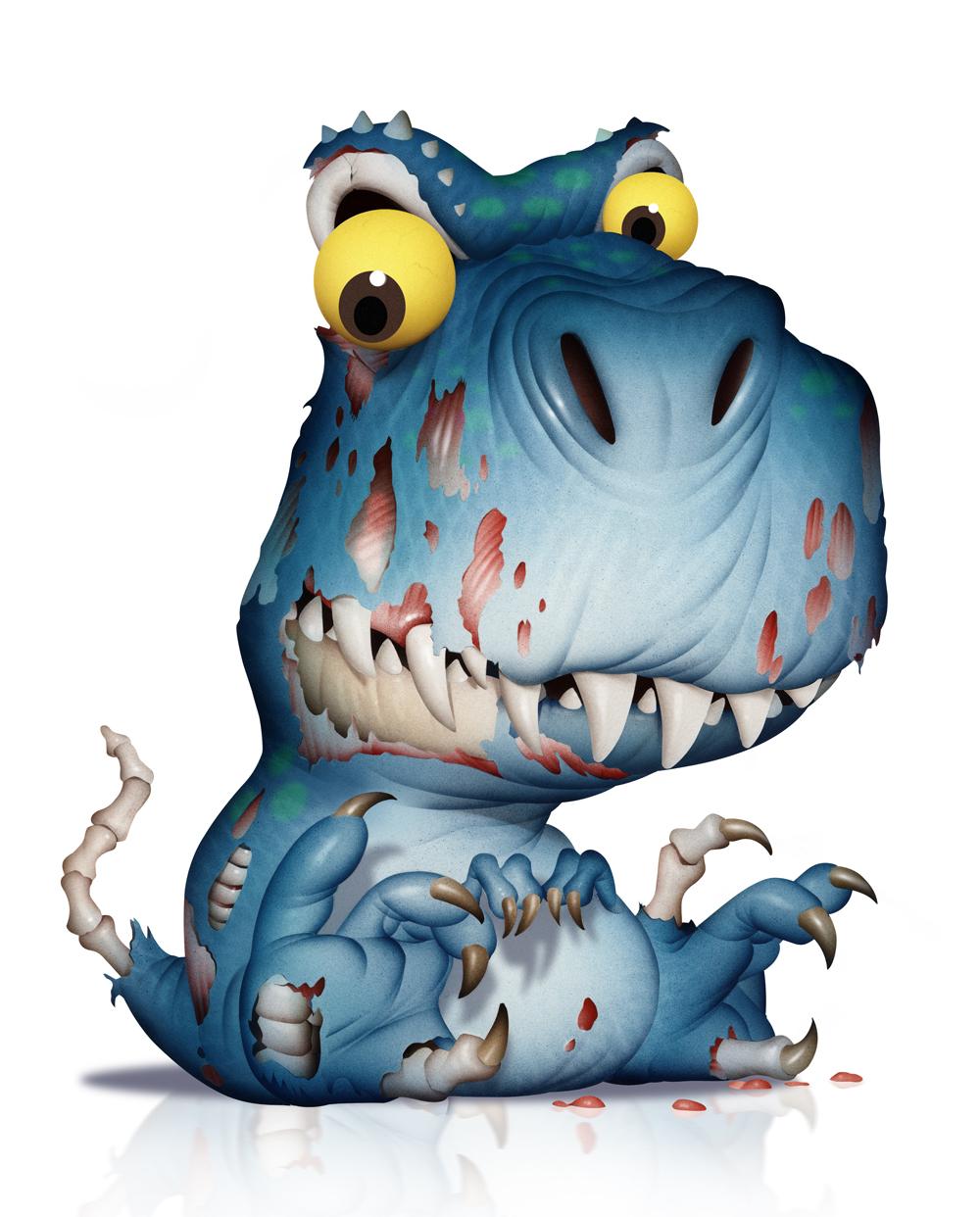 Zombie Dinosaur, Mattel
