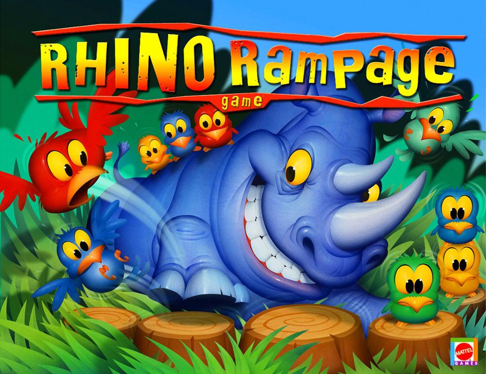 Rhino Rampage, Mattel