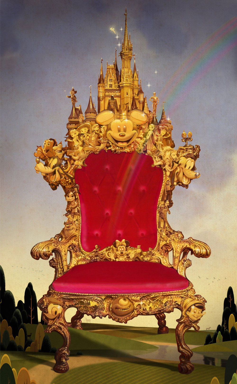 The Disney Throne