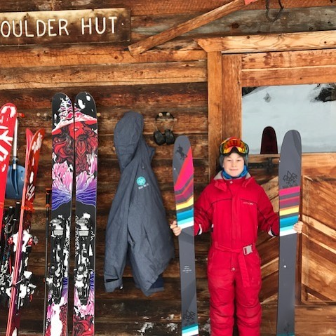 Meet 10-year-old Alden Yancey - Sego Skis youngest ski ambassador.  #segoskis #segoskico #boulderhutadventures #mybcbackcountry