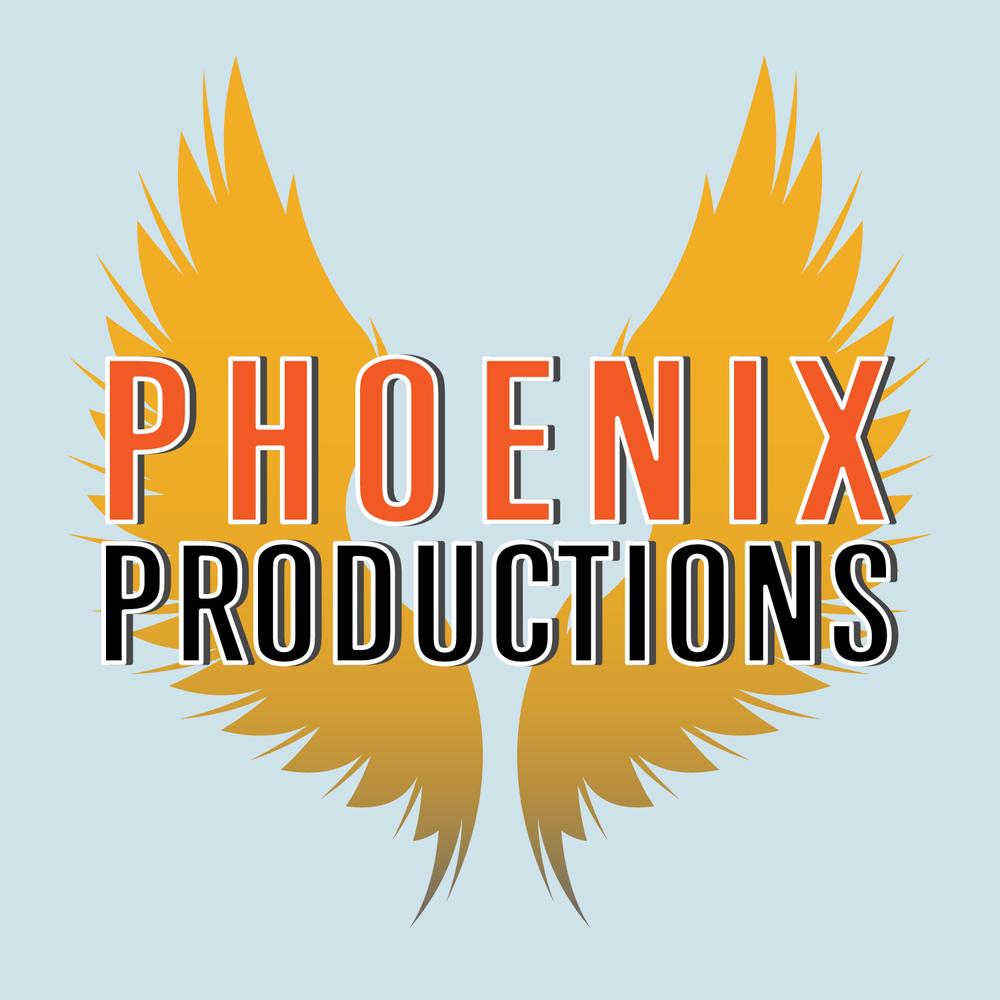 Phoenix Productions Logo Mockup