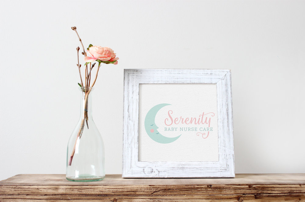 Logo for Serenity Baby Nurse Care