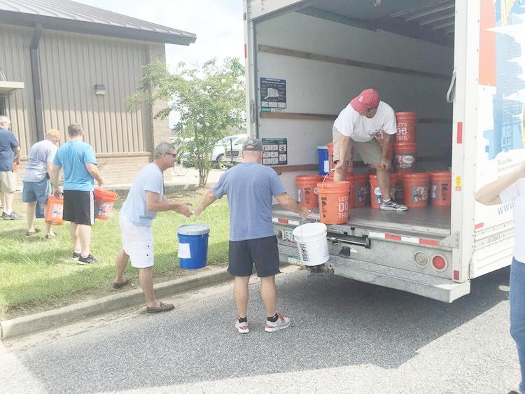Flood buckets for Louisiana from RTC