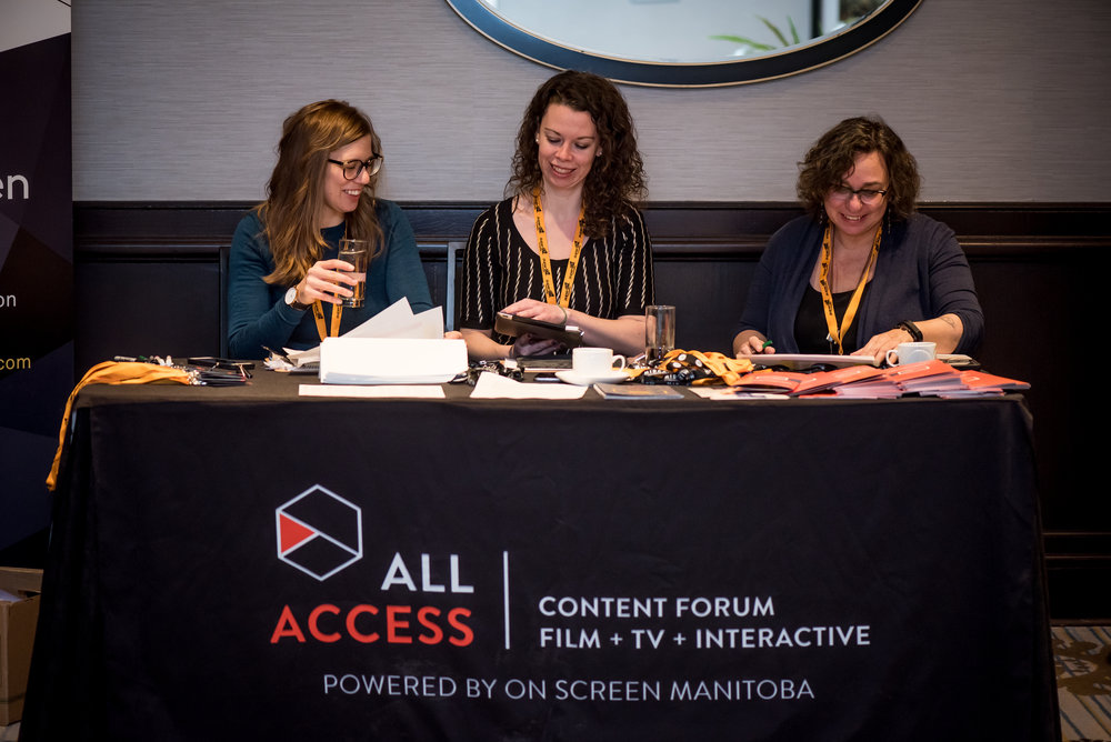 REGISTRATION WILL BE OPEN SOON! - Save the Date for All Access 2019, January 15 -17th.  Registration will be available soon online or in person at the On Screen Manitoba offices.