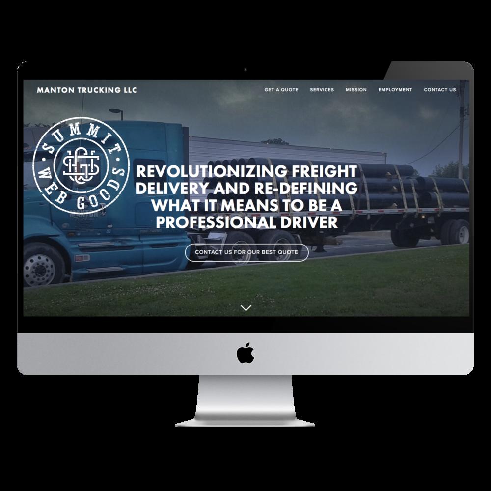 Manton Trucking Mockup