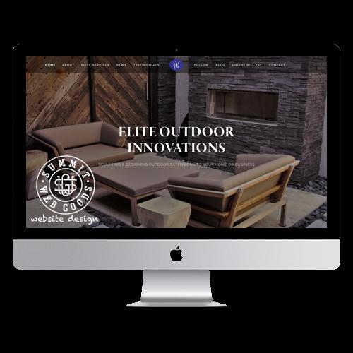 website design studio springfield mo 65803 summit web goods - Elite Outdoor Innovations