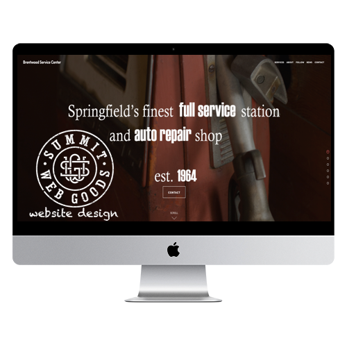website design springfield, mo by summit web goods-Brentwood Service Center