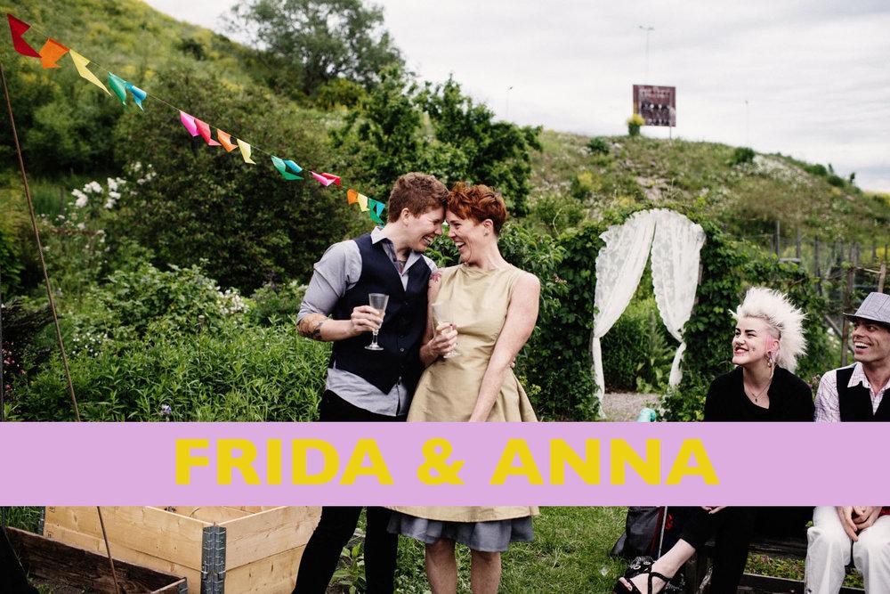 Frida & Annas bröllop