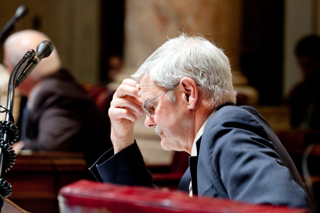 Senator Miller on the Senate floor