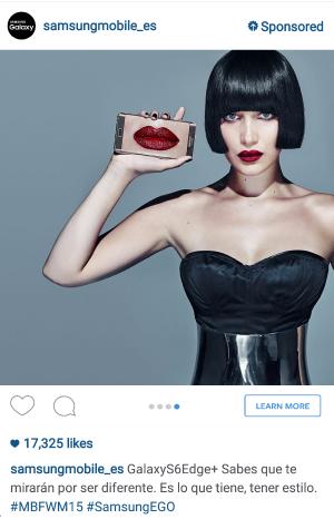 Ejemplo de Publicidad en Instagram