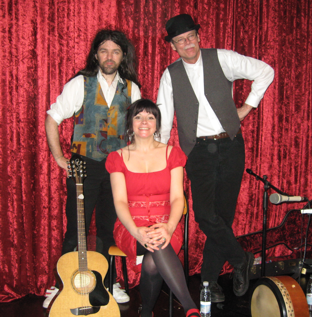 2009, 28. marts, The Unwanted med Seamus O'Dovd, Cathy Jordan og Rick Epping