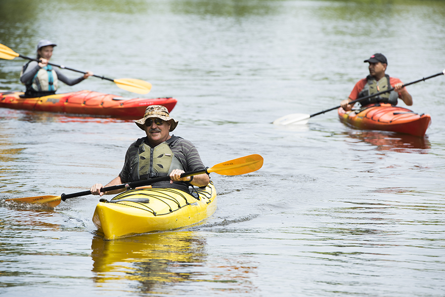 Kayaking Class at Shaw's Reserve