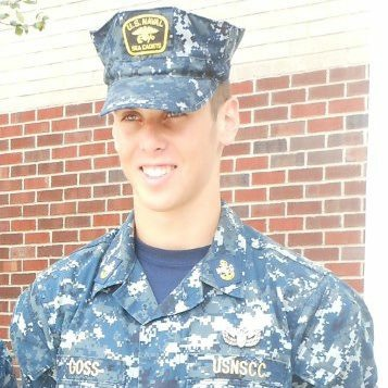 2012 Cadet Goss, pilot for the U. S. Navy