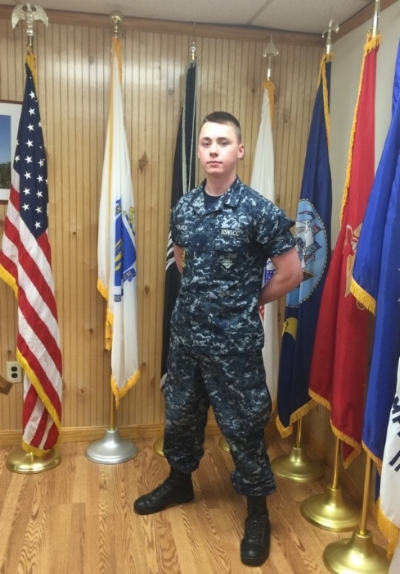 2016 Cadet Strauch, heading to the Navy Seal training.
