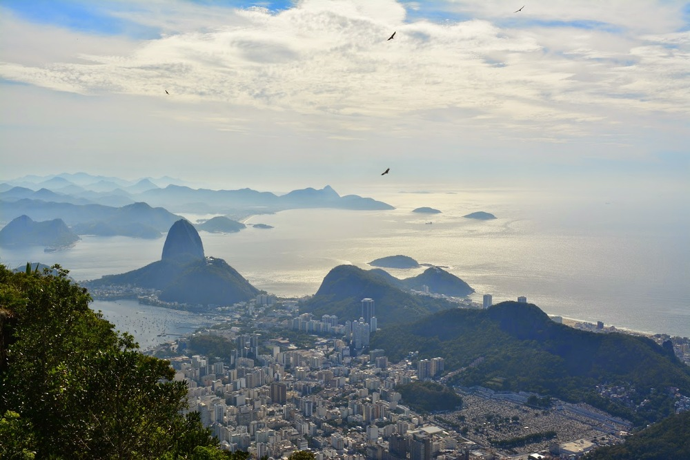 Rio from Christ the Redeemer