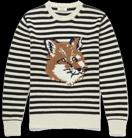 Fox and stripe by Maison Kitsunè, $540