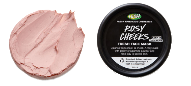 LUSH Rosy Cheeks Fresh Face Mask, $14