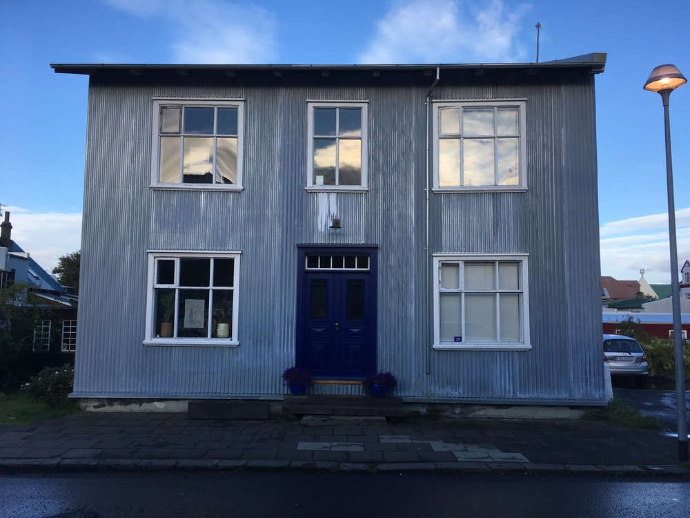 Our lovely AirBnB in Reykjavik
