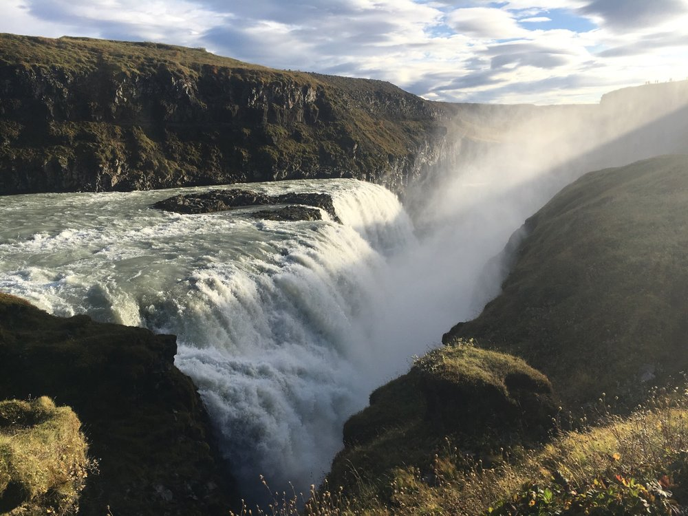 The primo waterfall, Gulfoss
