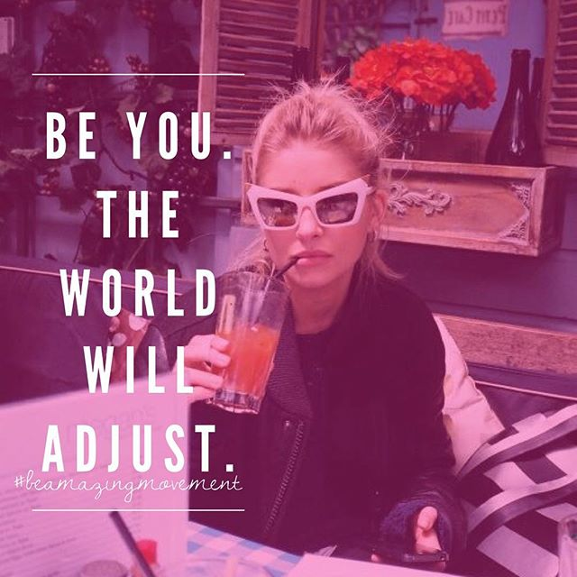 Ok. Got it. ✔️🌎 Yes please. 🙋 To be your original badass self in a world begging you to conform is true strength. 👊🏼 Be You. Please and Thank you. Tag your Sista! 👯💋Join our #BeAmazingMovement! (Click the link in our bio now 🎉)