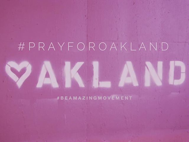Our hearts & prayers go out to Oakland. 🙏🏻💕💙
