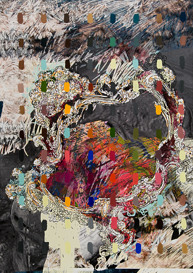 Contener la pintura, 2010