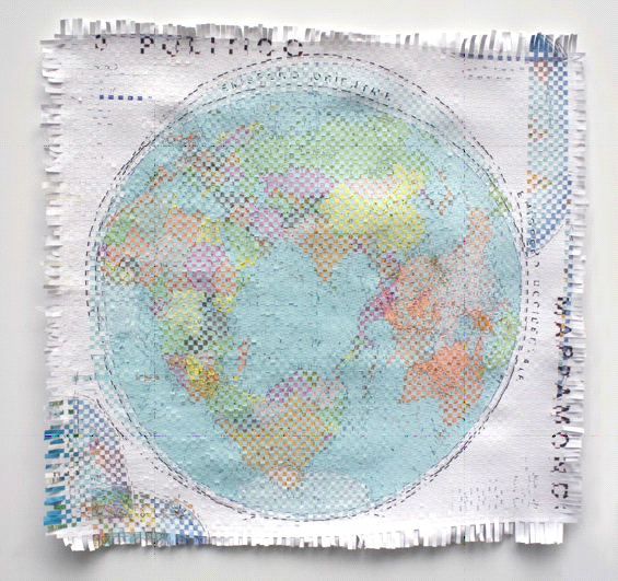 Pangea (Hemisferios occidental y oriental superpuestos), 2007
