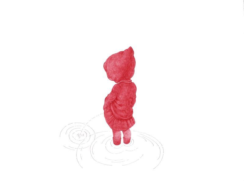 Niñas rojas