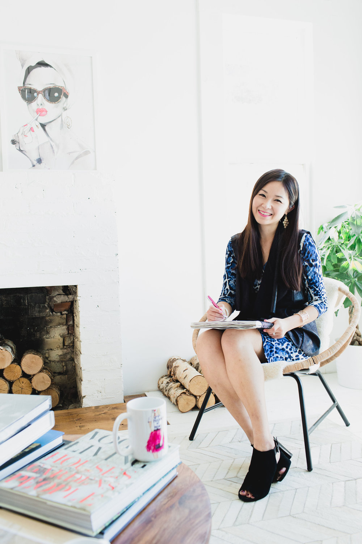 Rongrong DeVoe, Houston Fashion Illustrator on The Every Girl