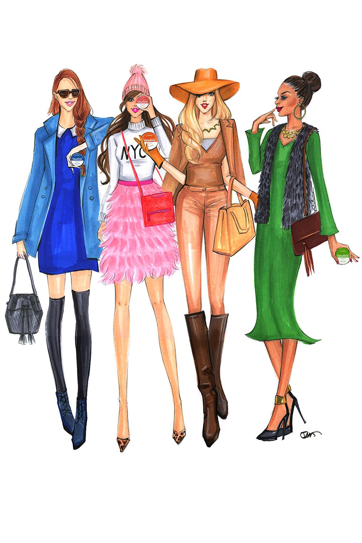 Fashion-Illustration-for-Vasletine and Gigi New York-by-Fashion-Illustrator-Rongrong-DeVoe