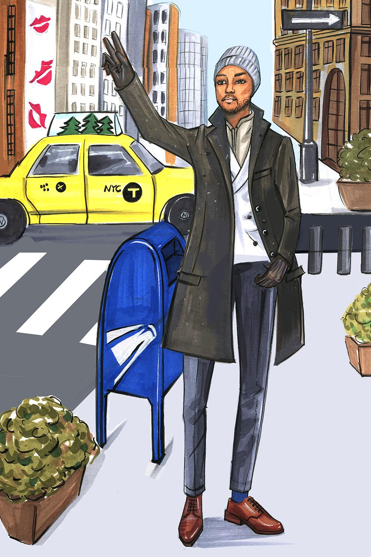 Fashion-Illustration-for-ELLE-Magazine-and-Banana-Republic-by-Fashion-Illustrator-Rongrong-DeVoe-2