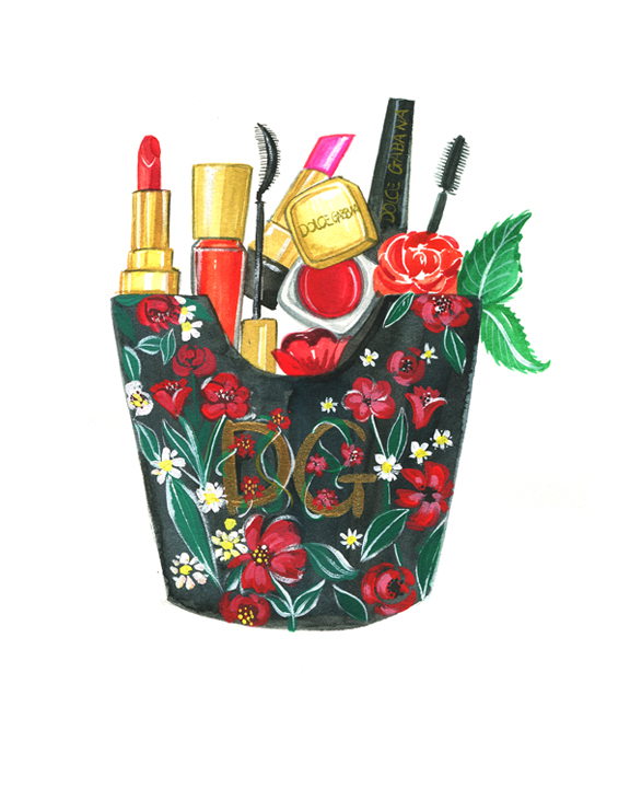 Dolce&Gabbana illustration by Rongrong DeVoe.JPG