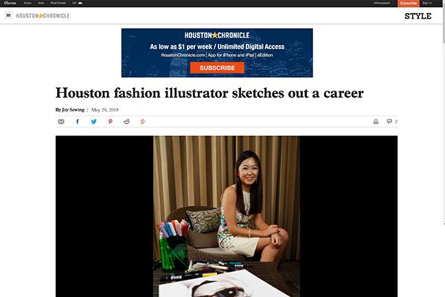 Houston Chronicle features Houston artist Rongrong DeVoe.JPG