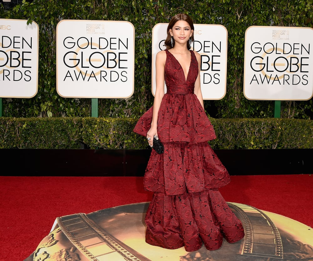 6. Zendaya in Marchesa