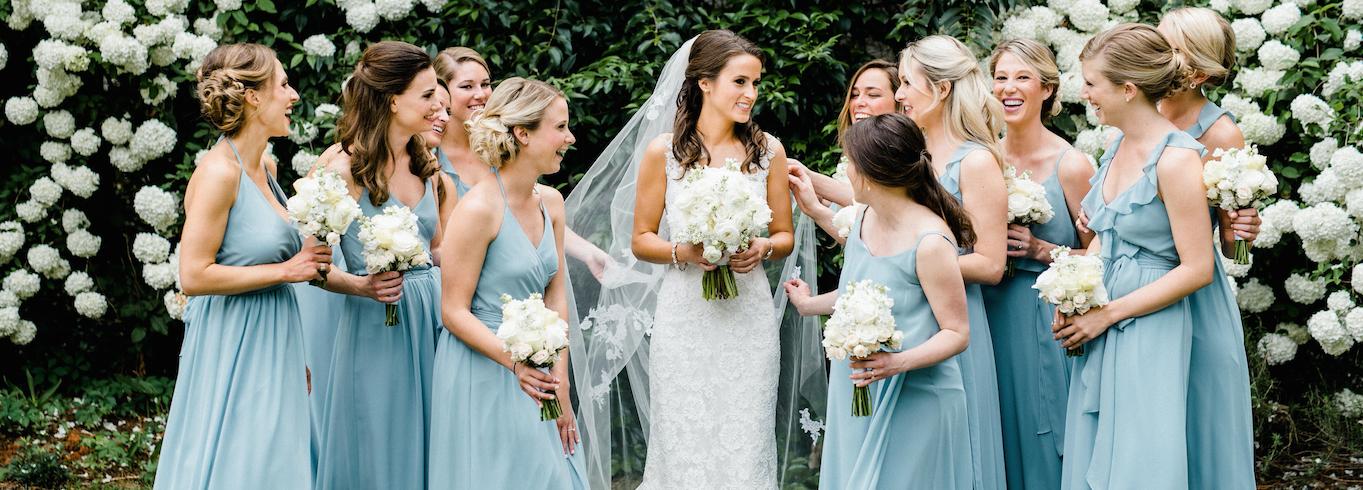 Modern Brides   Bridesmaids