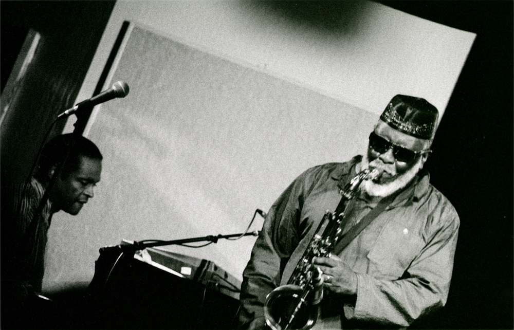 Pharoah Sanders, Kuumbwa Jazz Club, Santa Cruz, 1997