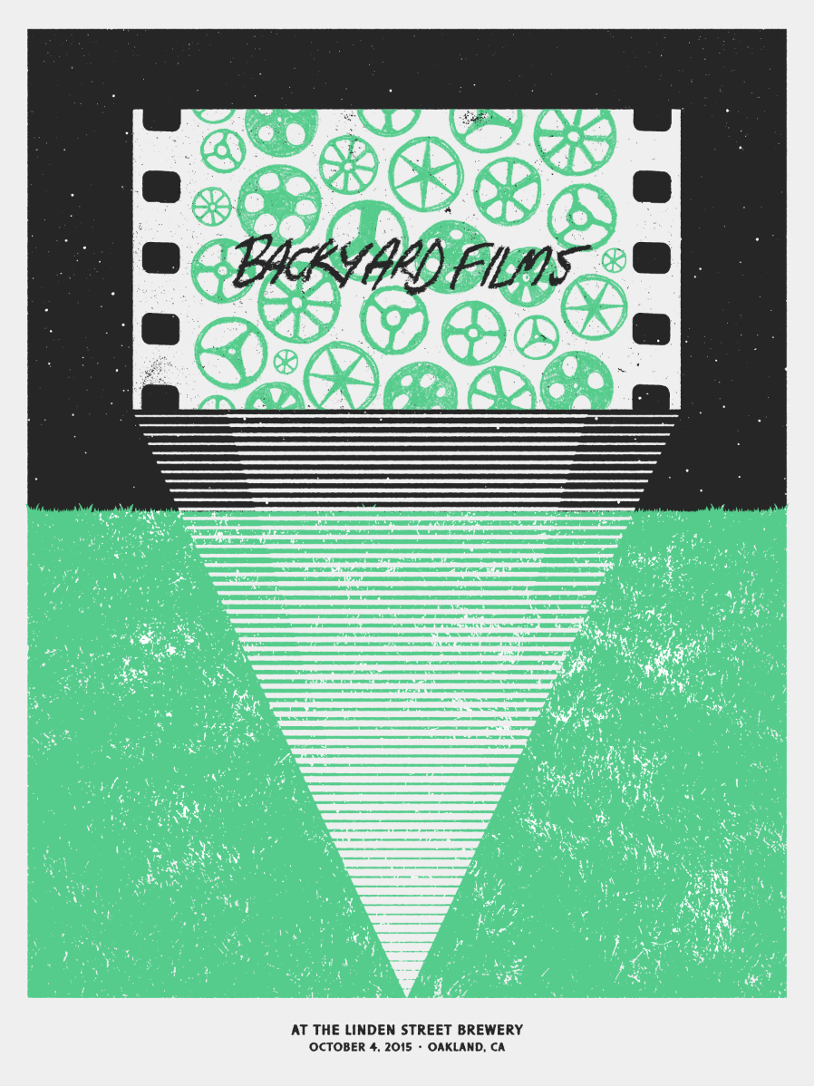 Idea 3: Sketchy film reels. Just a really simple and fun graphic approach, I like this idea because it contains all of the hand drawn elements inside of  the screen, kind of a weird metaphor for filmmaking. Not sure if that makes sense - stylistically what is on screen is contrasting with the environment it's in.