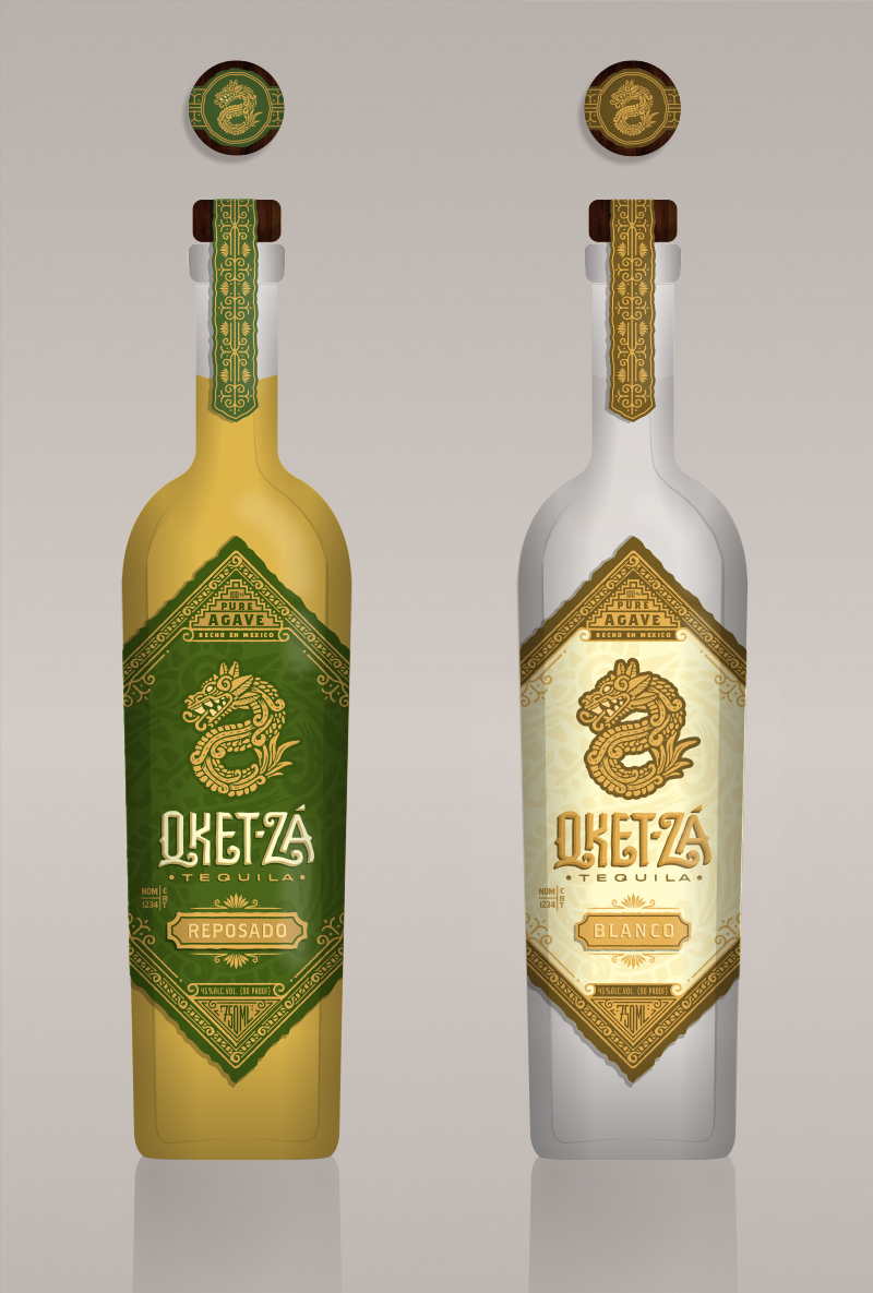 6. The Blanco and Reposado side by side.