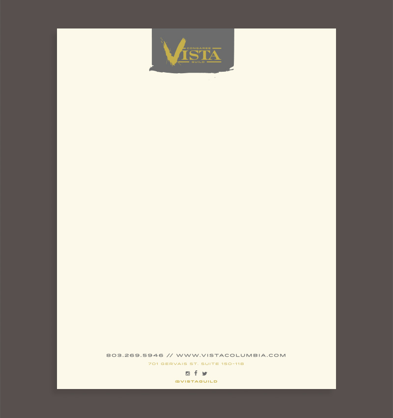 6. Letterhead option C